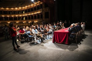 Conferenza stampa della stagione 2016-2017 al Teatro Biondo Stabile di Palermo