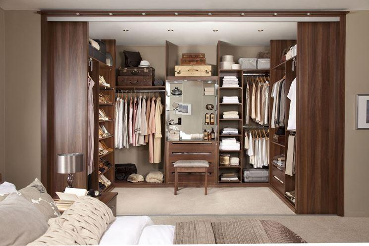 Cabina Armadio Tenda Polvere : Cabina armadio consigli utili per un guardaroba perfetto