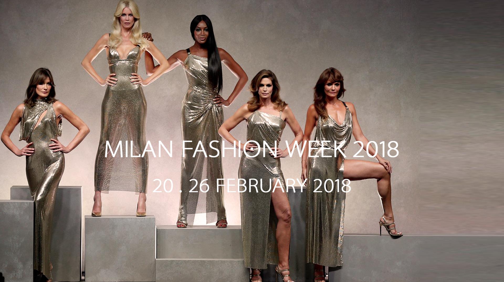 Milano moda donna calendario fashion week 2018 for Fashion week milano 2018